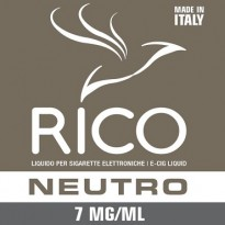 RICO Liquido Neutro 7 mg/ml nicotina Flacone 10 ml