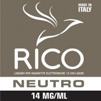 RICO Liquido Neutro 14 mg/ml nicotina Flacone 10 ml