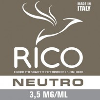 RICO Liquido Neutro 3,5 mg/ml nicotina Flacone 10 ml