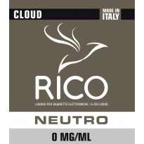 RICO Liquido Neutro Cloud 0 mg/ml nicotina - 40 ml