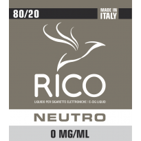 RICO Liquido Neutro Cloud 0 mg/ml nicotina - 100 ml