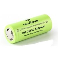 Batteria Vappower IMR 26650